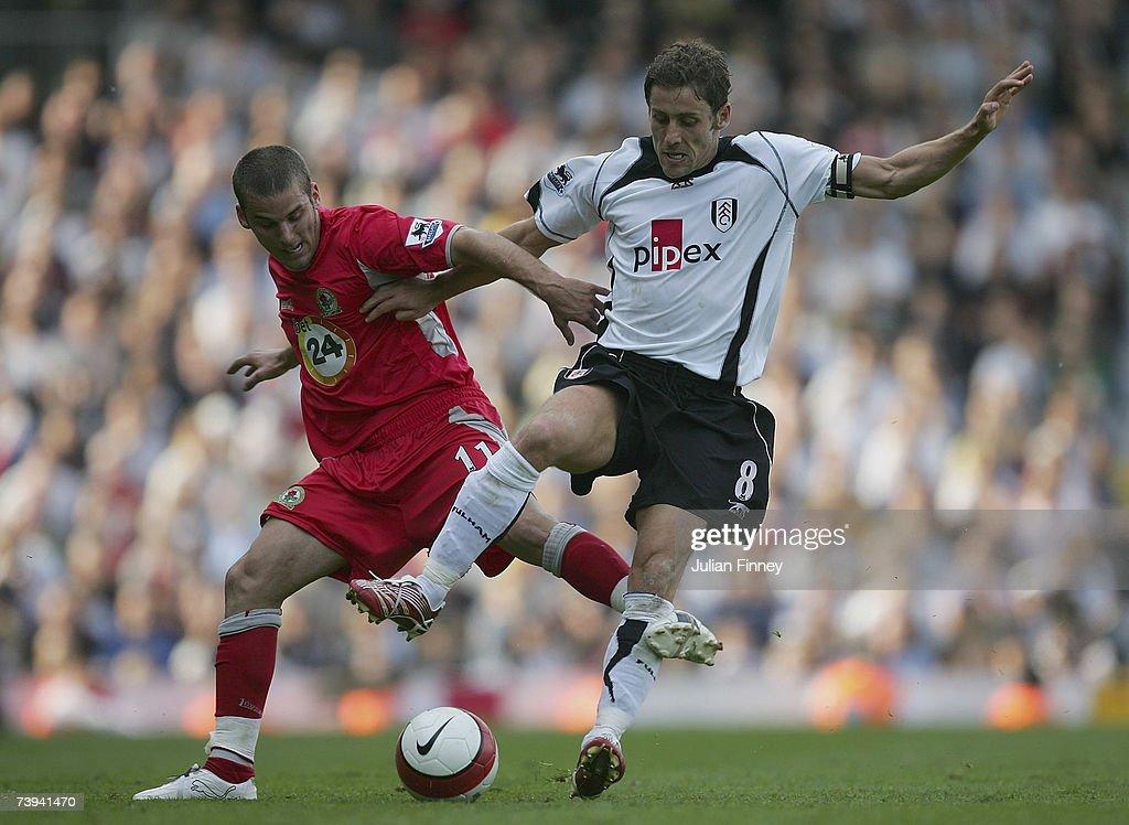 Fulham v Blackburn Rovers : News Photo