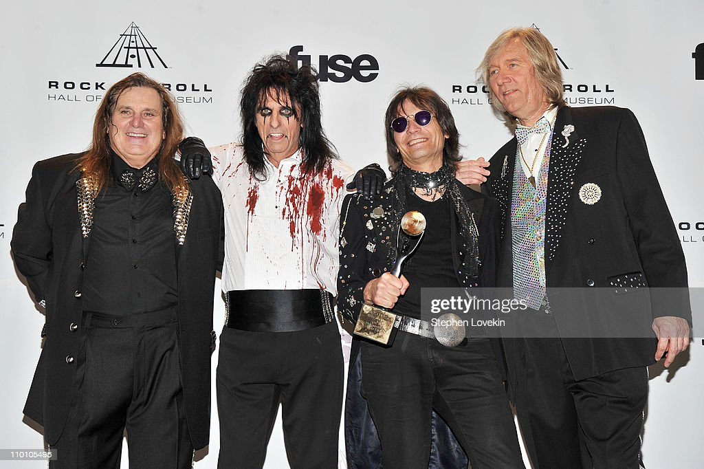 26th Annual Rock And Roll Hall Of Fame Induction Ceremony - Press Room : News Photo