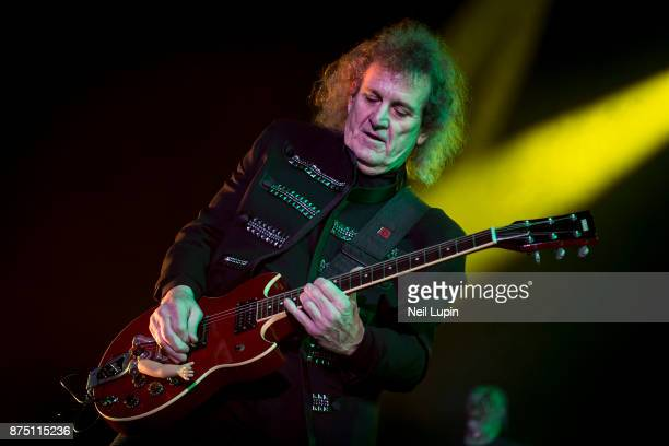 Michael Bruce of the Alice Cooper Band perform at Wembley Arena on November 16 2017 in London England