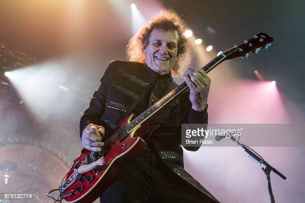 Michael Bruce original member of Alice Cooper band performs at Wembley Arena on November 16 2017 in London England