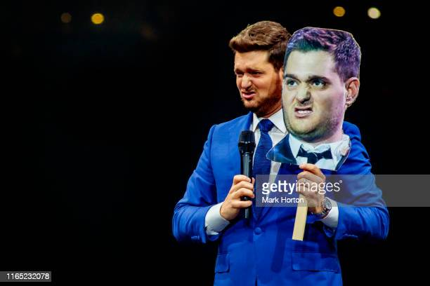 Michael Bublé performs at Canadian Tire Centre on July 30 2019 in Ottawa Canada