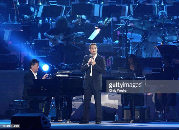 Michael Buble during Seventh Annual Andre Agassi Charitable Foundation's Grand Slam for Kids at MGM Grand Hotel in Las Vegas NV United States