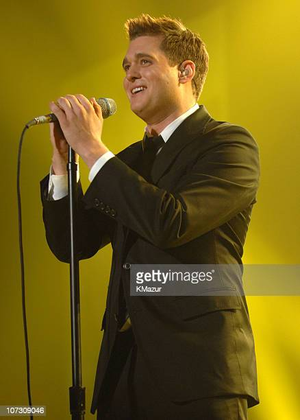 Michael Buble during The Andre Agassi Charitable Foundation's 11th Annual Grand Slam for Children Fundraiser Show at MGM Grand Garden Arena in Las...