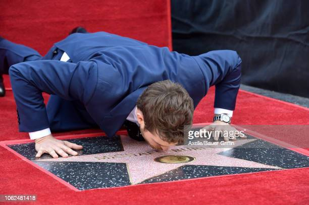 Michael Buble is honored with star on the Hollywood Walk of Fame on November 16 2018 in Hollywood California