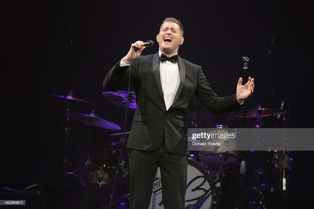Michael Buble In Concert - Atlantic City, NJ