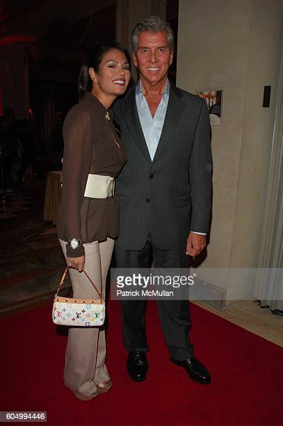 Michael Buffer and Christine Prado attend TAO Las Vegas One Year Anniversary Party at TAO Las Vegas at The Venetian Las Vegas NV on September 29 2006
