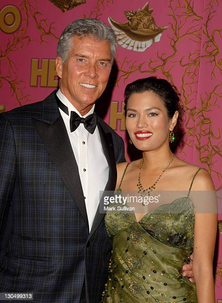 Michael Buffer and Christine Prado during 58th Annual Primetime Emmy Awards HBO After Party Arrivals at Pcific Design Center in West Hollywood...