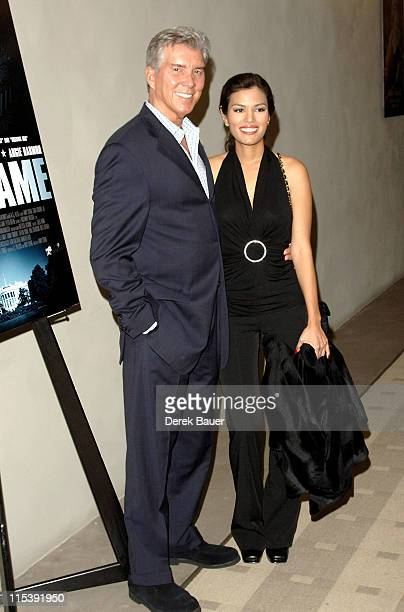 """Michael Buffer and Christine Prado during """"End Game"""" Los Angeles Premiere at The Academy of Motion Picture Arts and Sciences in Hollywood,..."""