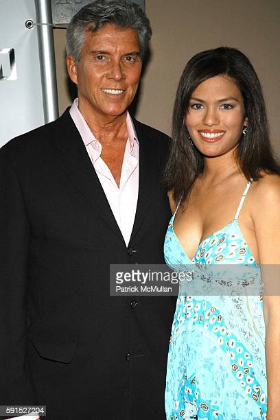 Michael Buffer and guest attends E3 2005 Electronics Entertainment Expo at Avalon on May 18 2005