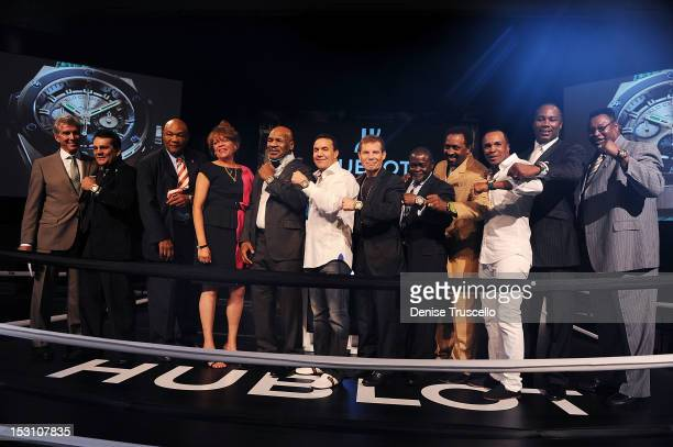 Michael Buffer Roberto Duran George Foreman Mike Tyson Jeff Fenech Julio Cesar Chavez Azuma Nelson Tommy Hearns Sugar Ray Leonard Lennox Lewis and...