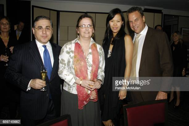 Michael Bunyaner Ann Bunyaner Mei Sze Chan and Jeff Greene attend THE PERLMAN MUSIC PROGRAM Annual Benefit Dinner Honoring YOYO MA and EMANUEL AX at...