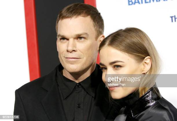 Michael C Hall and Morgan Macgregor arrive to New Line Cinema and Warner Bros Pictures' 'Game Night' Premiere held at TCL Chinese Theatre on February...