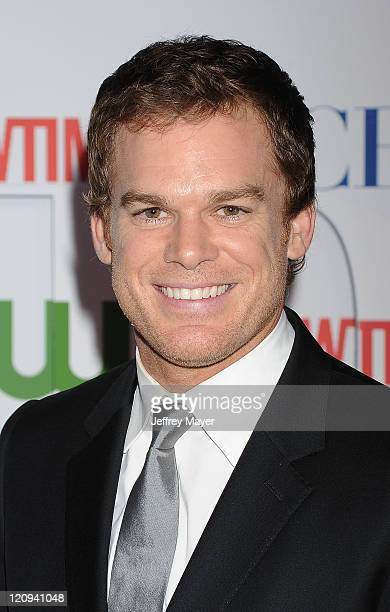 Michael C Hall arrives at the TCA Party for CBS The CW and Showtime held at The Pagoda on August 3 2011 in Beverly Hills California