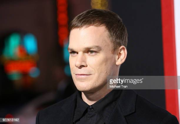 Michael C Hall arrives to New Line Cinema and Warner Bros Pictures' 'Game Night' Premiere held at TCL Chinese Theatre on February 21 2018 in...