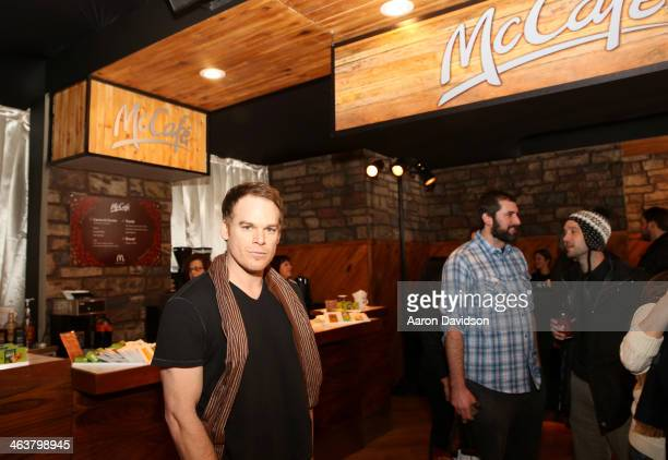 Michael C Hall attends McDonald's McCafe Presents The Village At The Lift on January 18 2014 in Park City Utah