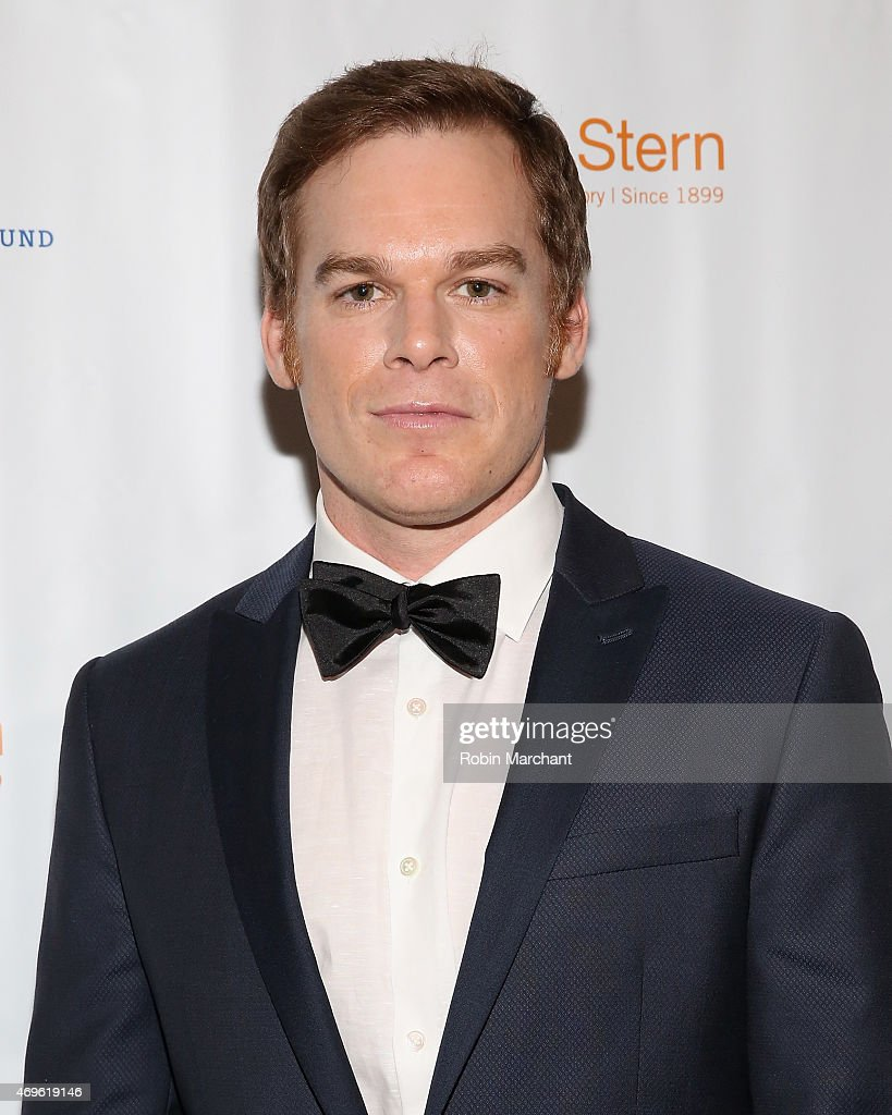 Michael C. Hall attends National Corporate Theatre Fund's 2015 Chairman's Awards Gala at The Pierre Hotel on April 13, 2015 in New York City.