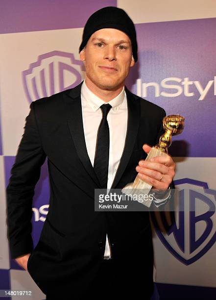 Michael C Hall attends the InStyle and Warner Bros 67th Annual Golden Globes postparty held at the Oasis Courtyard at The Beverly Hilton Hotel on...