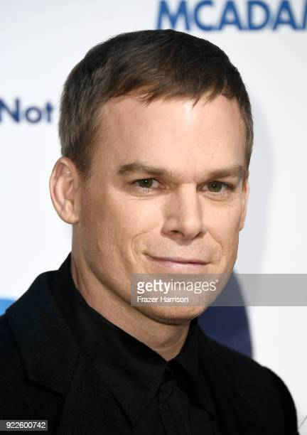 Michael C Hall attends the premiere of New Line Cinema and Warner Bros Pictures' 'Game Night' at TCL Chinese Theatre on February 21 2018 in Hollywood...
