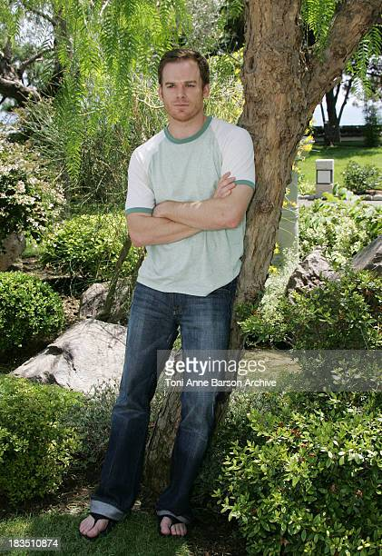 Michael C Hall during 45th Monte Carlo Television Festival Michael C Hall of Six Feet Under Photocall at Japonese Garden in Monte Carlo Monaco
