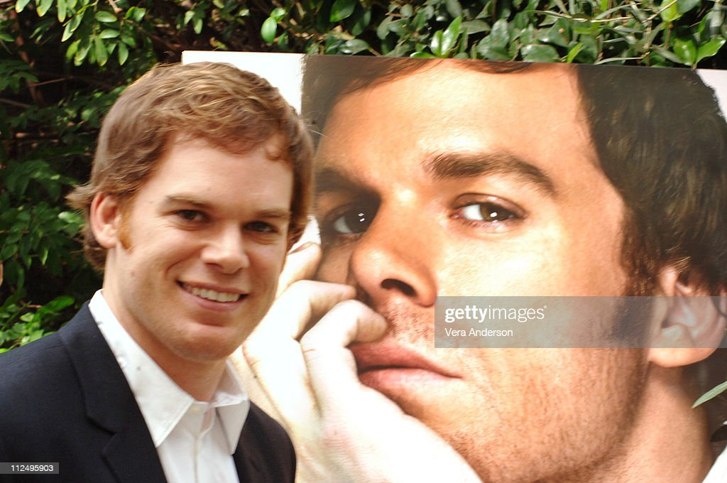 """""""Dexter"""" Press Conference with Michael C. Hall : News Photo"""