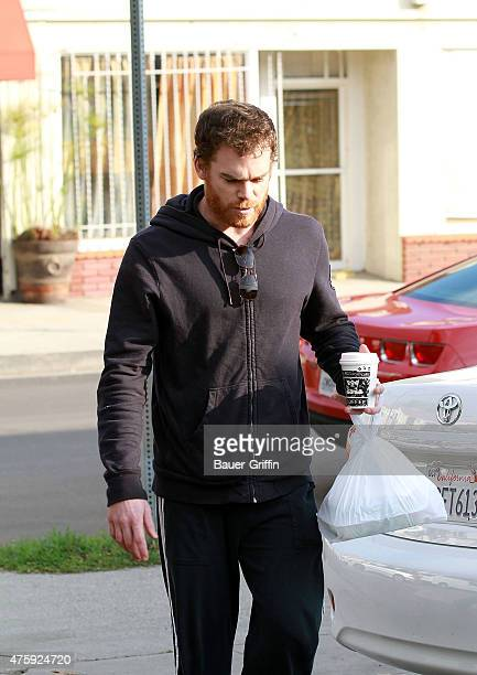Michael C Hall is seen on January 07 2011 in Los Angeles California