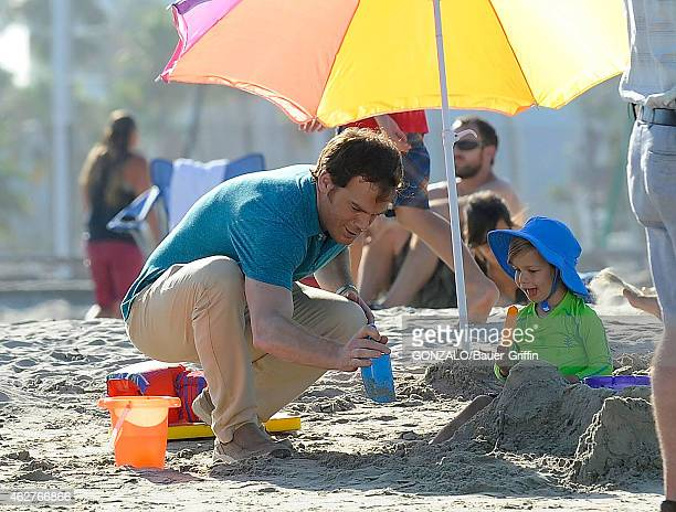 Michael C Hall is seen on the set of 'Dexter' on August 20 2012 in Los Angeles California