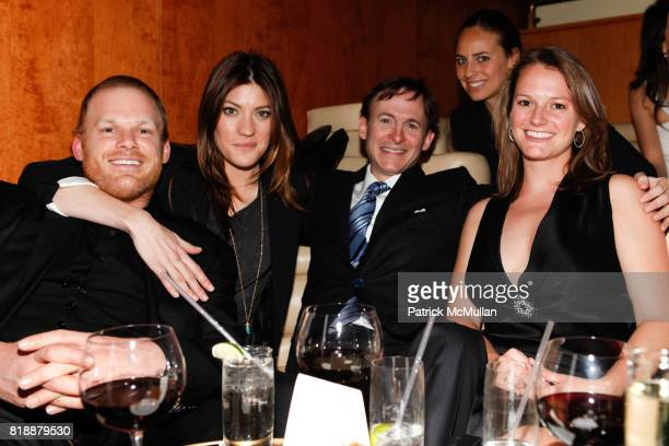Michael C Hall Jennifer Carpenter Bruce Levingston Ariel Ashe and Martha Rockwood attend Bruce Levingston on Top of The Standard A Premiere...