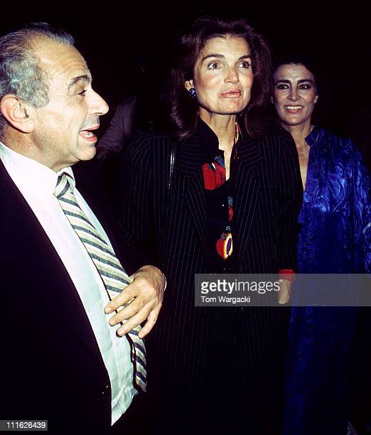 Michael Cacoyannis, Jackie Onassis and Irene Papas