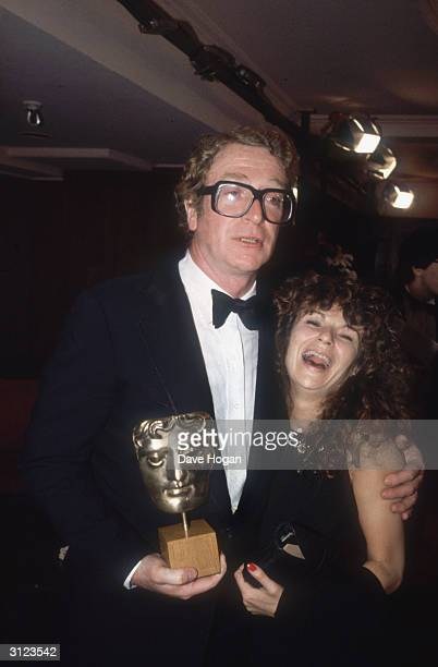Michael Caine and Julie Walters at the 1984 BAFTA Awards where they were voted Best Actor and Best Actress respectively for the comdy drama...