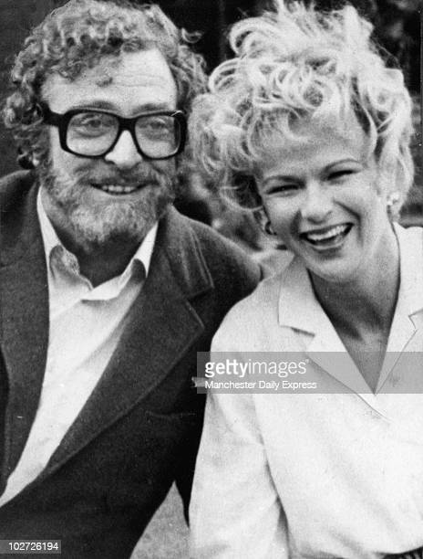 Michael Caine and Julie Waters Feburary 1984 Michael Caine and Julie Waters Feburary 1984