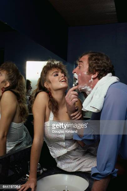 Michael Caine and Michelle Johnson play the respective roles of Matthew Hollis and Jennifer Lyons in the 1984 romantic comedy Blame It on Rio
