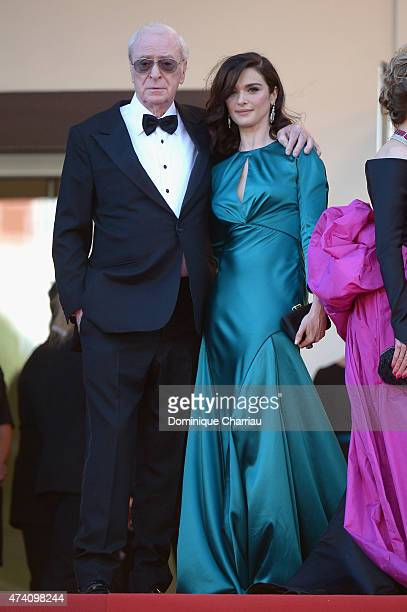 Michael Caine and Rachel Weisz attend the Youth Premiere during the 68th annual Cannes Film Festival on May 20 2015 in Cannes France