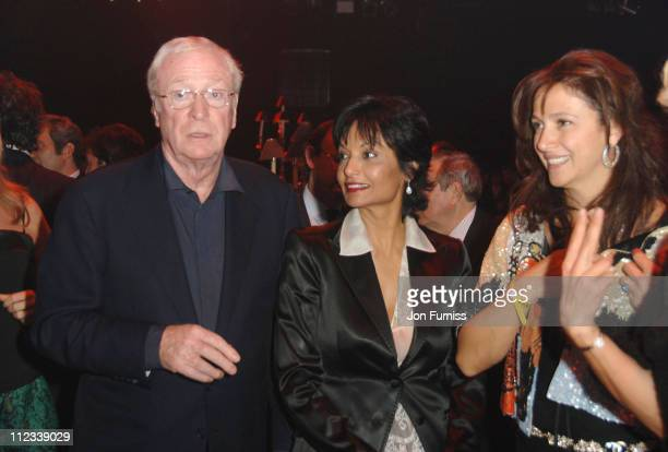 Michael Caine and Shakira Caine during 2007 Pirelli Calendar Launch - Cocktail Reception and Gala Dinner at Battersea Evolution in London, Great...