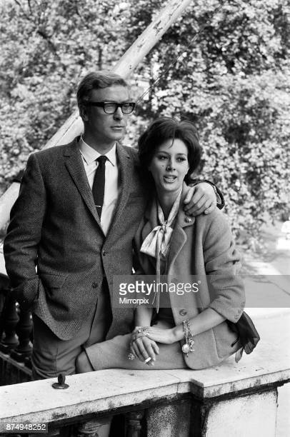 Michael Caine and Sue Lloyd on the set of 'The Ipcress File' 21st September 1964
