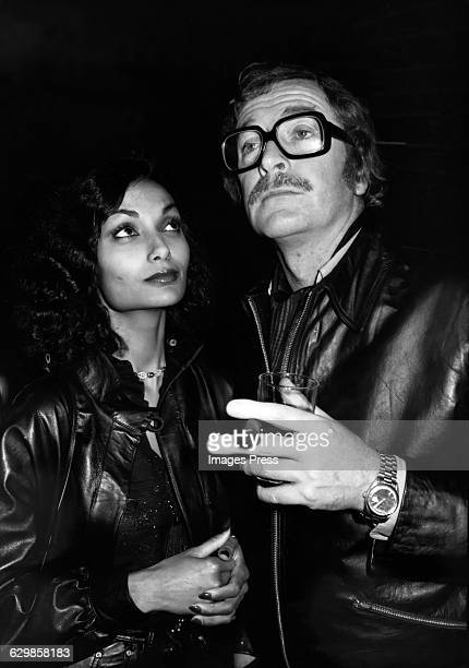 Michael Caine and wife Shakira circa 1979 in New York City