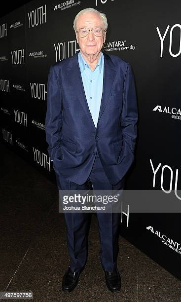 Michael Caine arrives at the premiere of Fox Searchlight Pictures' 'Youth' at DGA Theater on November 17 2015 in Los Angeles California