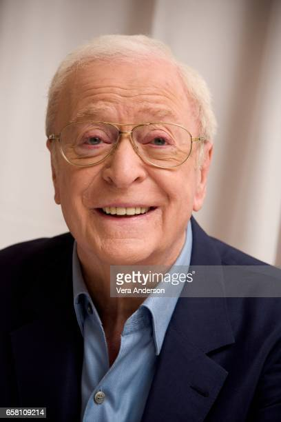 Michael Caine at the Going in Style Press Conference at the Whitby Hotel on March 25 2017 in New York City