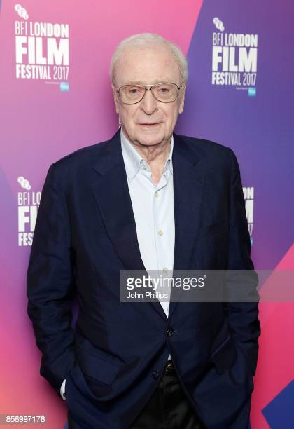 Michael Caine attends a screening My Generation during the 61st BFI London Film Festival on October 8 2017 in London England