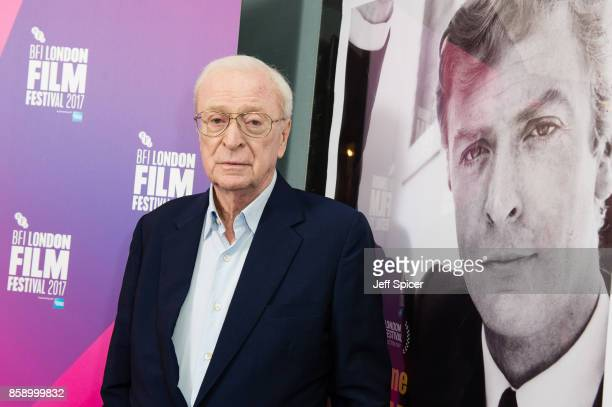 Michael Caine attends a screening of My Generation during the 61st BFI London Film Festival on October 8 2017 in London England