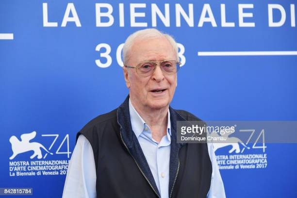 Michael Caine attends the 'My Generation' photocall during the 74th Venice Film Festival at Sala Casino on September 5 2017 in Venice Italy