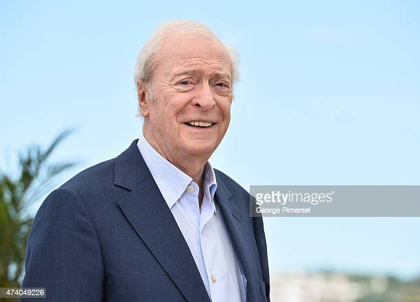 Michael Caine attends the Youth Photocall during the 68th annual Cannes Film Festival on May 20 2015 in Cannes France