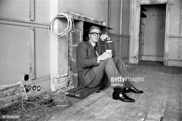 Michael Caine on the set of 'The Ipcress File' 21st September 1964
