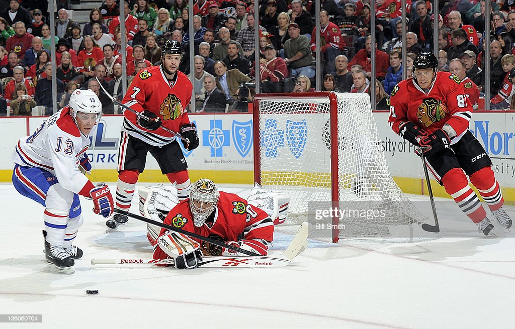 Montreal Canadiens v Chicago Blackhawks