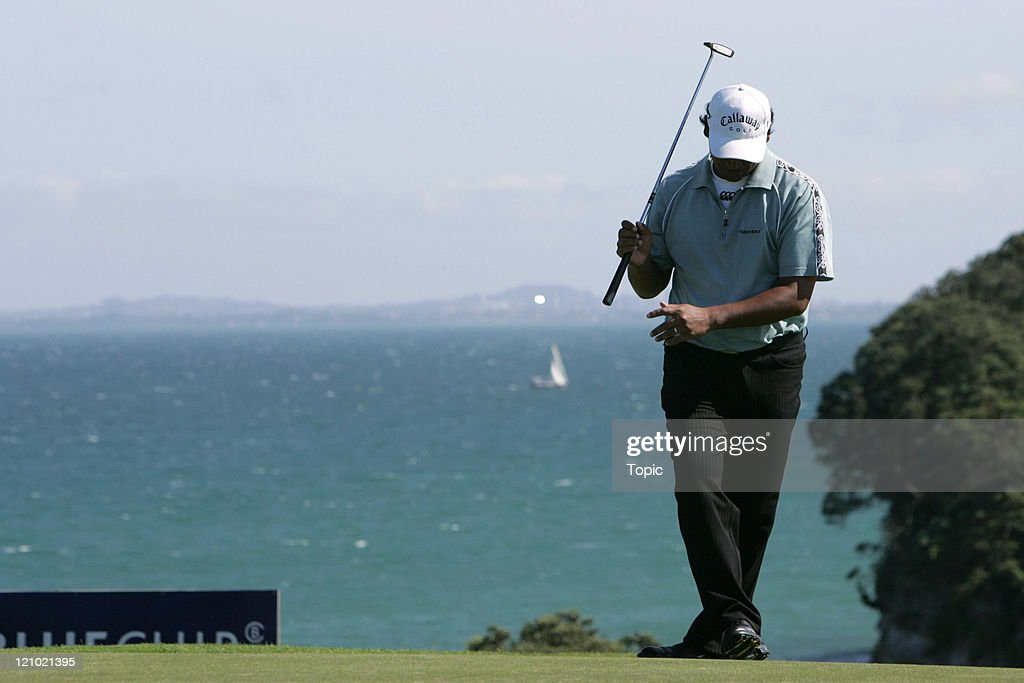 European Tour - 2006 Bluechip New Zealand Open - Final Round