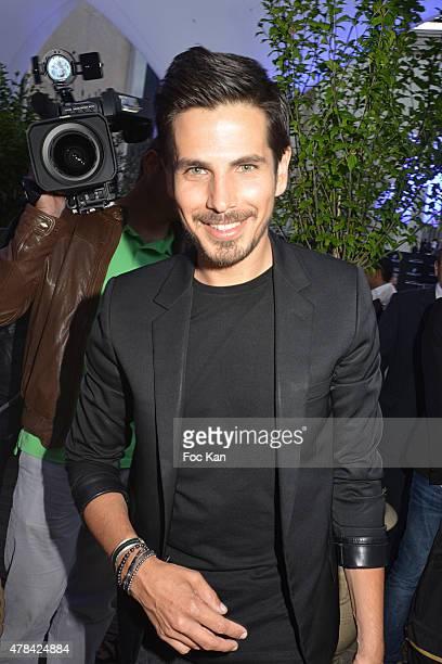 Michael Canitrot attends the 'Hublot Blue' cocktail party At Monsieur Bleu Palais De Tokyo on June 24 2015 in Paris France