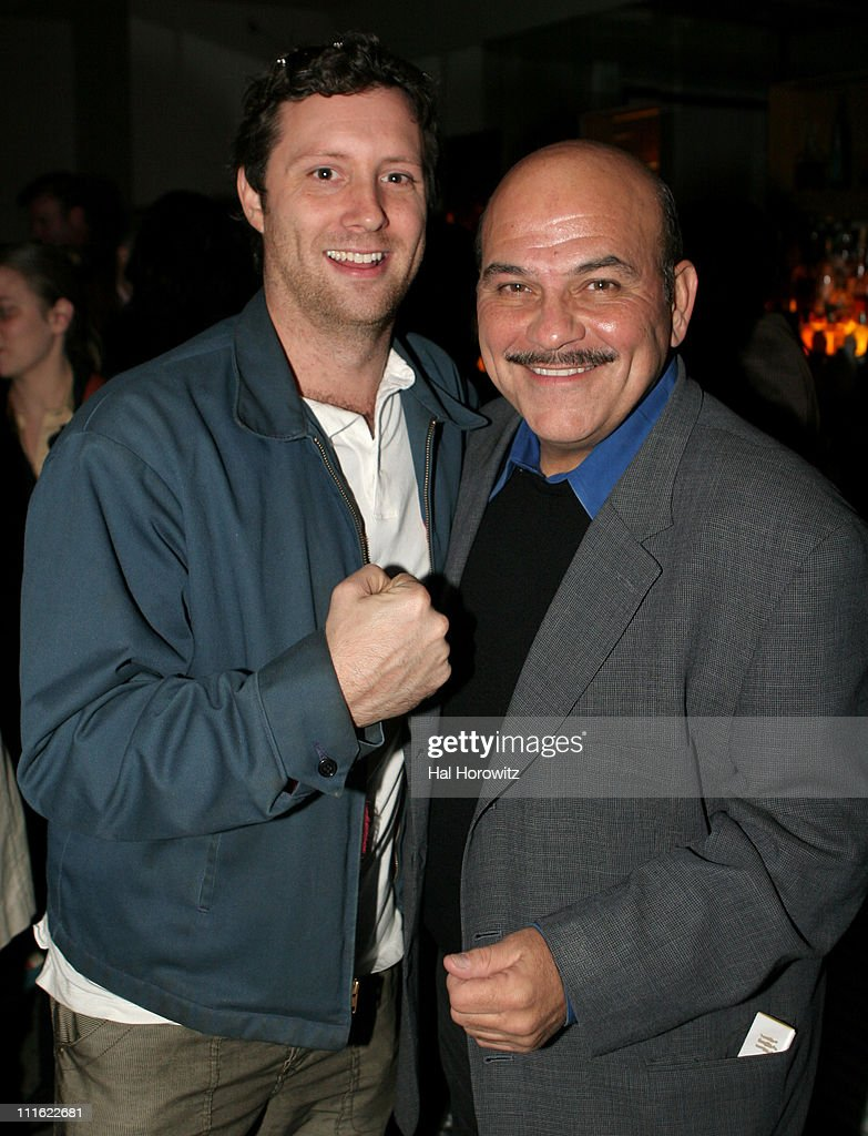Michael Canzoniero and Jon Polito during 'The Voyage Of The Carcass' - Opening Night Party at Mannahattah in New York City, New York, United States.