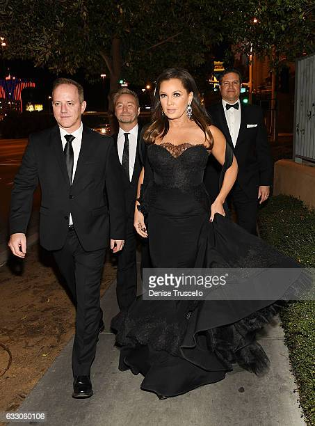 Michael Caprio Randy Slovacek Vanessa Williams and Jim Skrip arrive at the Nevada Ballet Theatre's 2017 Woman of the Year award at the Aria Resort...