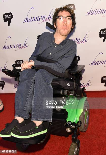 Michael Carnick arrives Voices of Tomorrow Shannon K Album Launch for Perpetual at The Peppermint Club on April 26 2017 in Los Angeles California