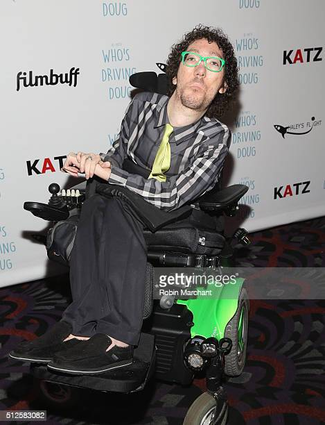 Michael Carnick attends Premiere Of Katz Agency's Who's Driving Doug at Los Feliz 3 Cinemas on February 26 2016 in Los Angeles California