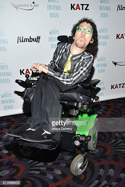 Michael Carnick attends the premiere of FilmBuff's Who's Driving Doug at Los Feliz 3 Cinemas on February 26 2016 in Los Angeles California